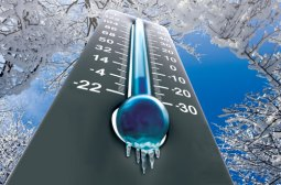 Snow-Cold-Thermometer