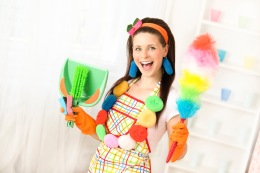 Colorful Cleaning Woman (2) (2)