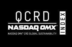 Nasdaq CRD Global Sustainability Index Logo